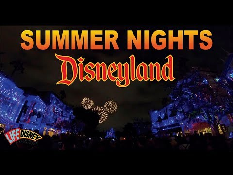 Summer Nights At Disneyland! Low Crowds, Lots Of Rides.. & Disneyland Forever Fireworks!