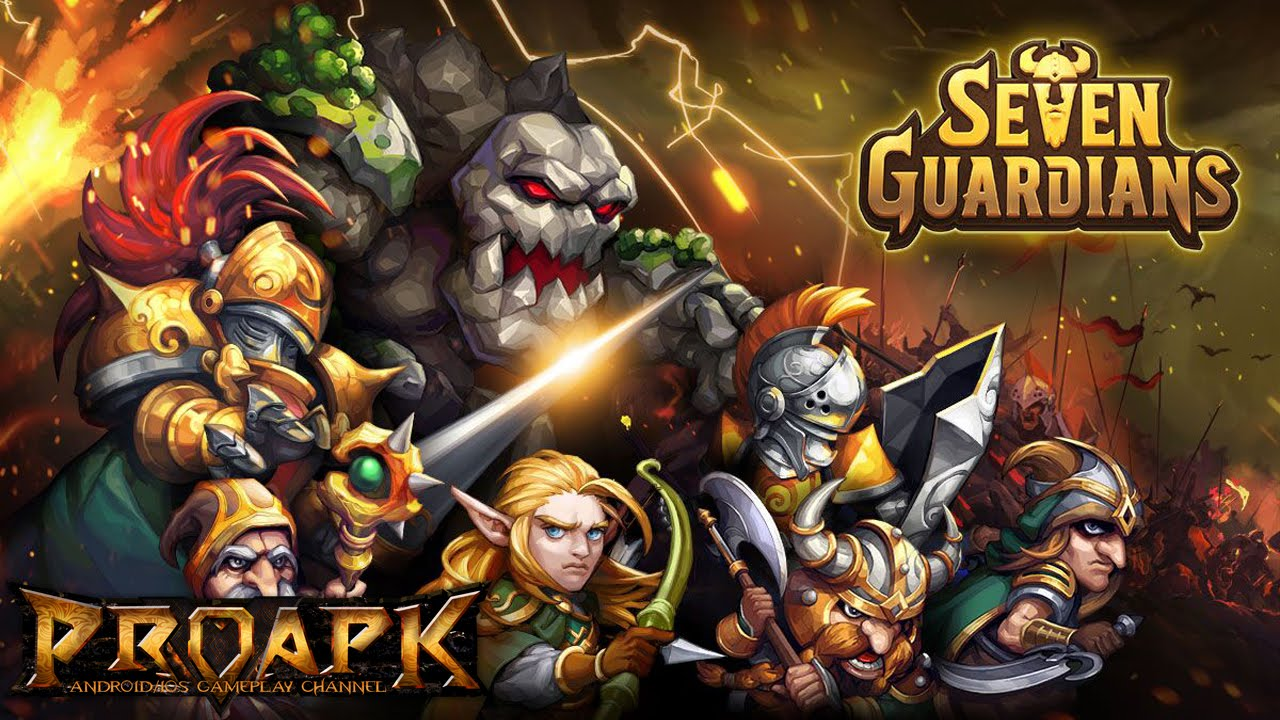 Seven Guardians Gameplay IOS / Android