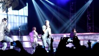 Backstreet Boys In world like this tour Montréal august 6 - As long as you love me