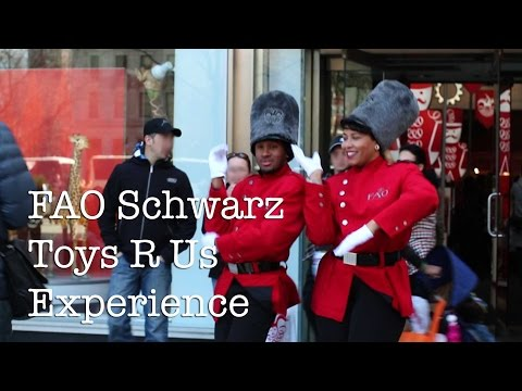 FAO Schwarz And Toy's R Us Experience