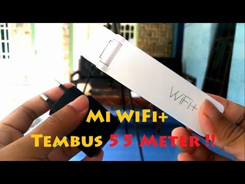 Review & Cara Setting Mi Repeater 2 WiFi+ 55 Meter Tembus !