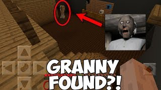 Granny's House FOUND in Minecraft PE / Bedrock Edition
