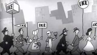 1952 Eisenhower Political Ad - I Like Ike - Presidential Campaign Ad