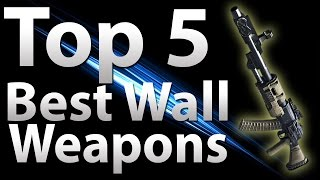 Top 5 Wall Guns In 'call Of Duty Zombies' - Black Ops 2 Zombies, Black Ops & Waw