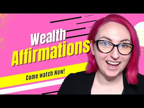 * 777 * Wealth Affirmations & Images to Create an Awesome Life