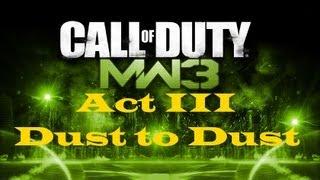 """""""Call of Duty 8: Modern Warfare 3"""", HD walkthrough (Veteran), Act III: Final Mission - Dust to Dust"""