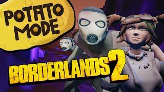 Borderlands 2's Ultra Low Settings Gets The Border-Less Treatment | Potato Mode