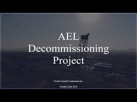 AEL Decommissioning Project