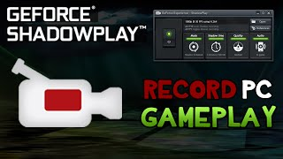 BEST Way to Record PC Gameplay! Record in 1080p 60FPS