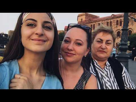 VLOG 1 | ARMENIA | ЕРЕВАН | Живем у бабушки | Что едим?? | Обошли все ЗА ОДИН ДЕНЬ | IRUSIK |
