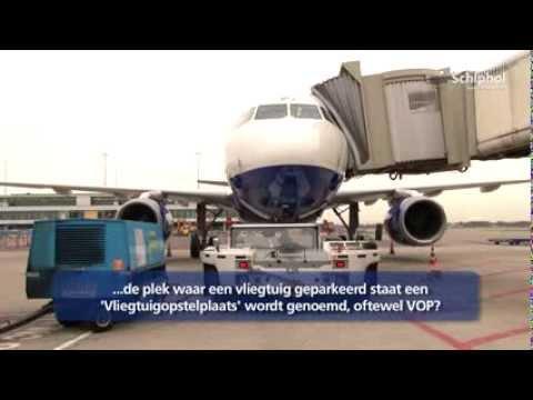 Wist u dat... een vliegtuig op een 'VOP' parkeert?