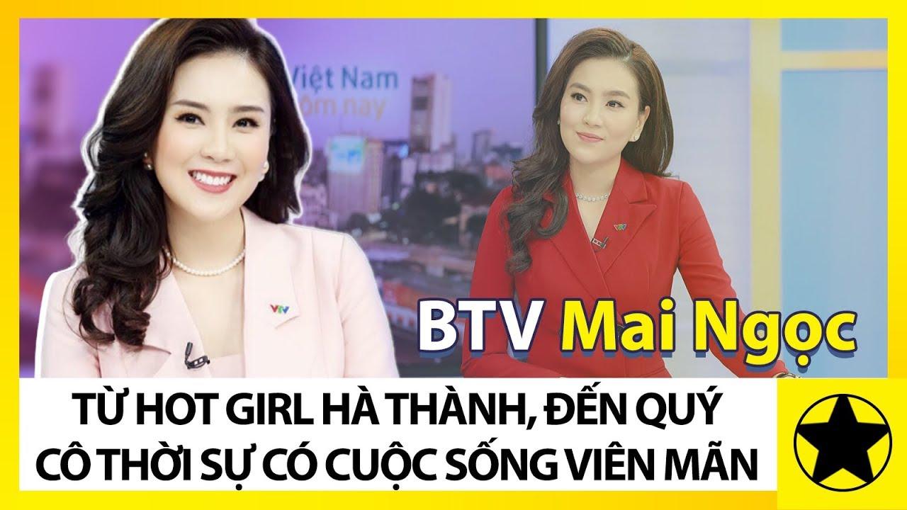 """BTV Mai Ngọc: Từ """"Hot Girl Hà Thành"""" Đến """"Quý Cô Thời Sự"""" Có Cuộc Sống Viên Mãn"""