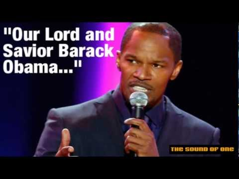 Jamie Foxx Calls Barack Obama