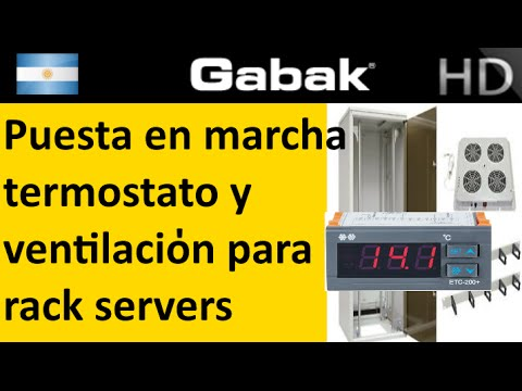 Ventilaci n de rack termostato te etc 200 teor a for Clases de termostatos