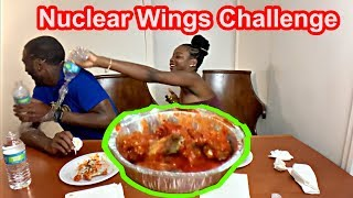 INSANELY HOT!!! Nuclear Wing Challenge- We Are DNA