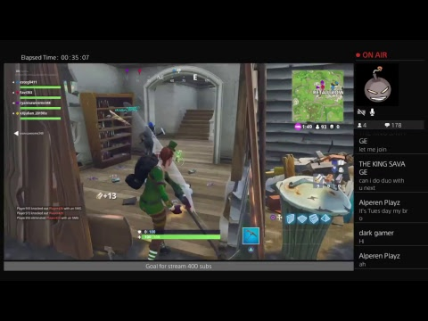 *NEW BlITZ MODE* Fortnite Playing With Subscribers Road To 400 Subs (PS4)(LIVE)