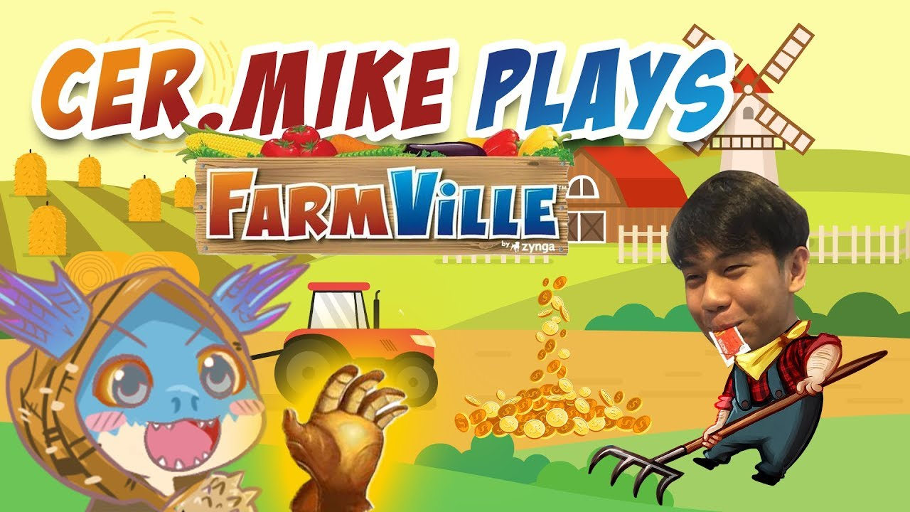 Cer.Mike.WxC Plays FARMVILLE! with TNC.Kuku and BYB ft. Axl.Pogi