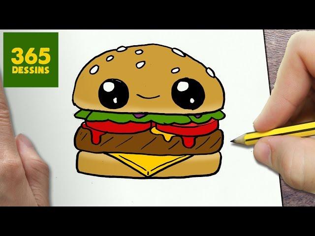 Comment dessiner hamburger kawaii tape par tape - Comment fabriquer une coupe du monde en papier ...
