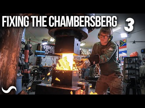 FIXING THE 300LBS POWER HAMMER!!! Part 3