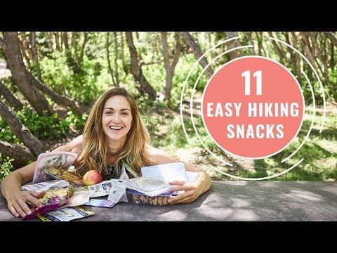 11 HIKING SNACKS Easy Snacks to Take Hiking