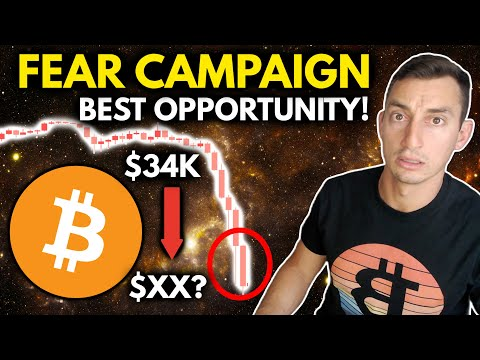 """Another """"FINAL CRASH"""" For Bitcoin!! BAD NEWS = Huge Opportunity for Crypto & Stock Investors"""