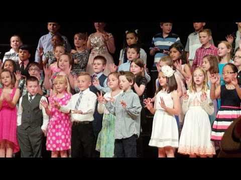 West Burlington Elementary School 3rd grade concert 2016 part 1