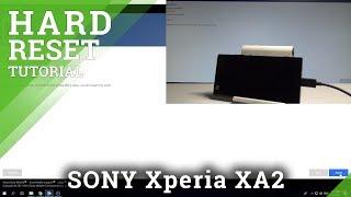 How to Hard Reset SONY Xperia XA2 - Bypass Screen Lock / Flash |HardReset.Info