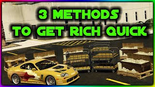 3 Amazing Ways to Make Money in GTA 5 Online!!