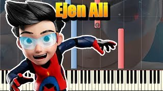 🎵 Ejen Ali The Movie - Official Teaser Trailer Music [Piano Tutorial]