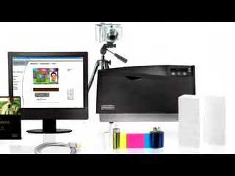 Fargo DTC550 Card Printer & System
