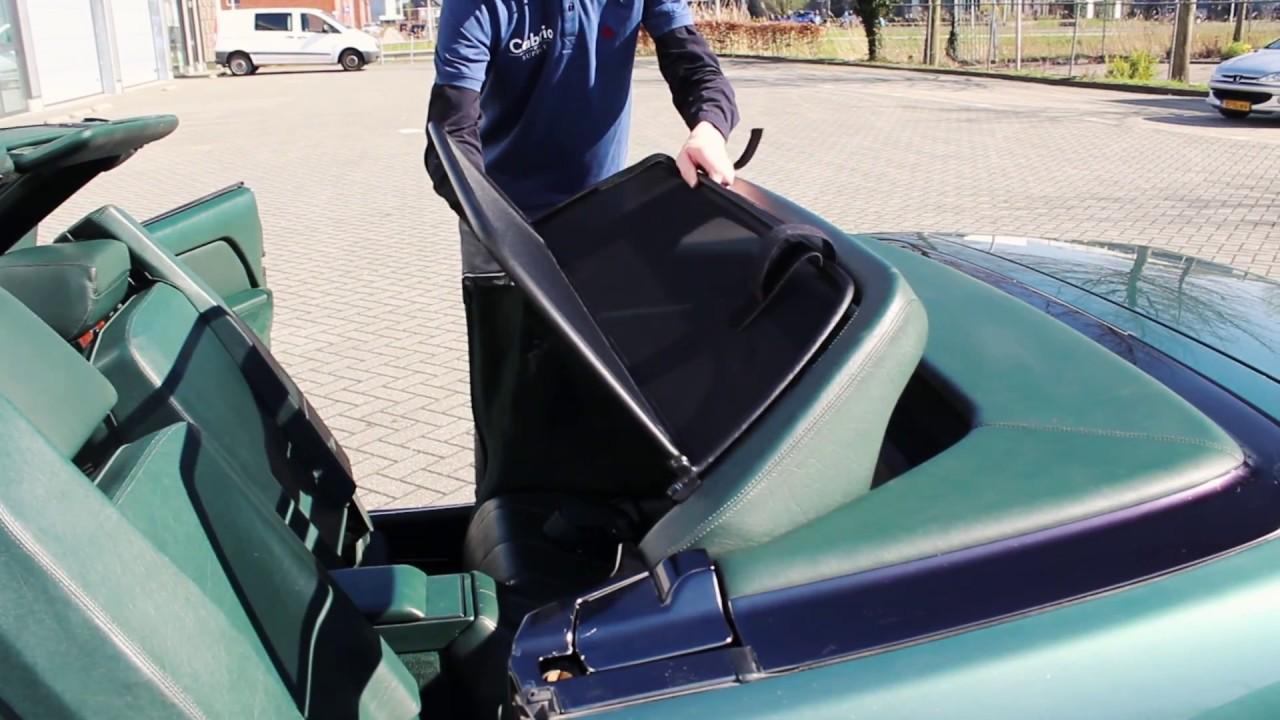 D/éflecteur de vent pour Mercedes SL R129 1989-2001