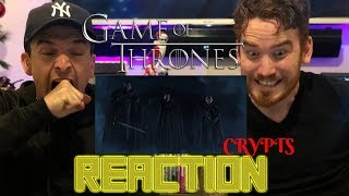 Game of Thrones | Season 8 | Official Tease : Crypts of Winterfell REACTION!!!!