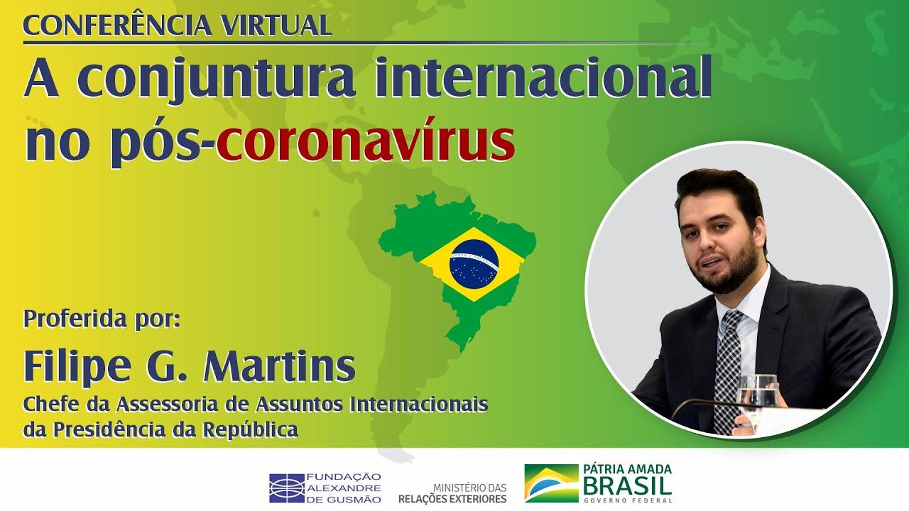 """Conferência virtual """"A conjuntura internacional no pós-coronavírus"""""""