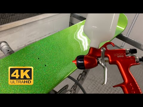 How To Spray  Metal Flake Using The Flake King 1000 Dry Metal Flake Spray Gun