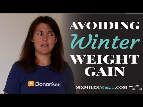 6 Easy Methods to Avoid Winter Putting On Weight