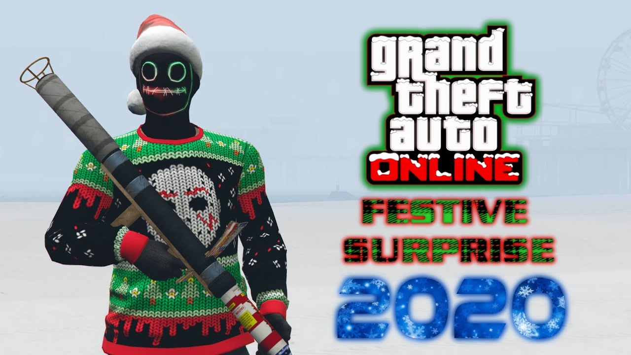 GTA Online: Festive Surprise 2020! Snow is HERE! (NEW Cars, FREE Items, and More)