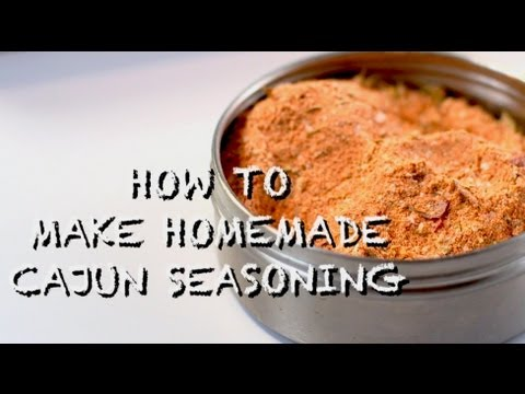 How to Make Homemade Cajun Seasoning