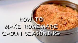 How To Make Homemade Cajun Seasoning