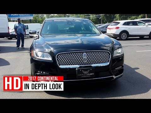2017 Lincoln Continental In Depth Walkaround Startup Interior Exterior Trunk Engine