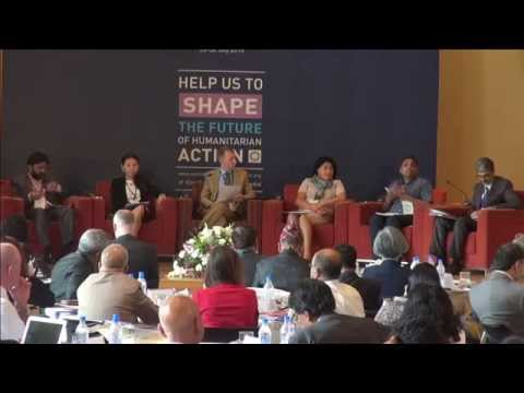 [WHS SCA Day 1: Part 1] World Humanitarian Summit South and Central Asia Consultation