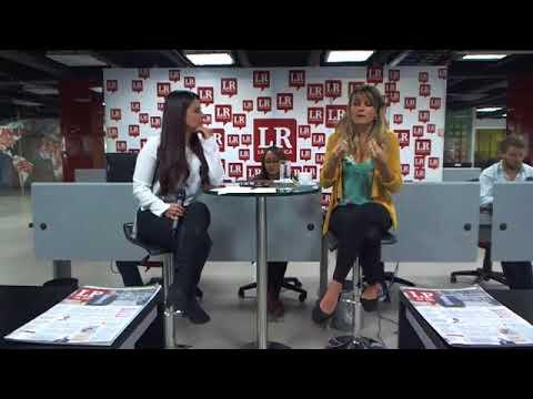 Entrevista a Gloria Alvarez en Diario La República