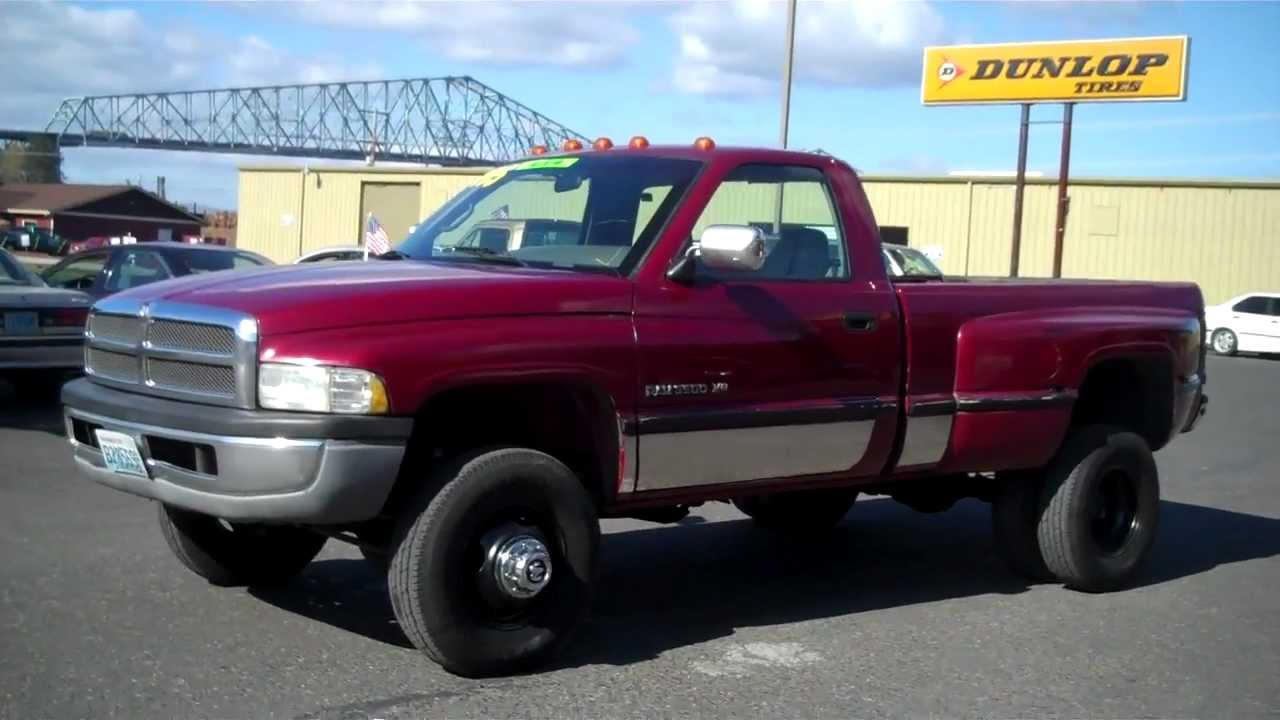 1995 DODGE 3500 1 TON DUALLY 4X4 SOLD!!! - YouTube