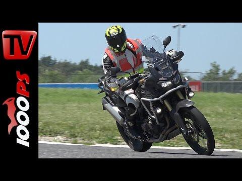 Honda Africa Twin 2016 | Ideale Bereifung, knallharter Laufleistungs - Test