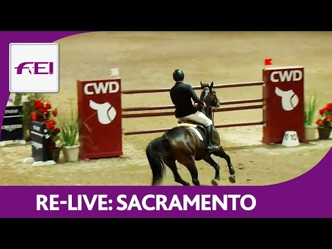 Re-Live | Sacramento | Longines FEI World Cup™ Jumping 2016/17 NAL | Morning Star Sporthorses GPQ