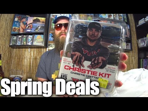 Spring Deals on Fishing Tackle - New Fishing Lures & Baitcast Reel