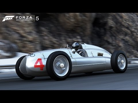 Forza 5 1939 Audi Auto Union Type D at Nurburgring GP Circuit (Autovista/Test Drive)