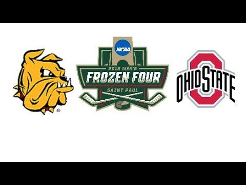 ohio-state-#2-vs-minnesota-duluth-#4-highlights-|-2018-ncaa-men's-hockey-frozen-four-|