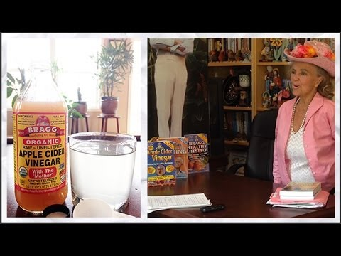 Bragg's Apple Cider Vinegar Health Benefits - Patricia Bragg Interview 7/12