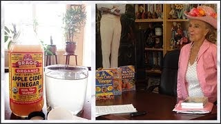 Bragg s Apple Cider Vinegar Health Benefits - Patricia Bragg Interview 7/12