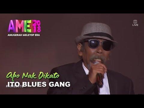 #AME2018 I Apo Nak Dikato by Ito Blues Gang | Persembahan Pembukaan I Anugerah MeleTOP Era 2018
